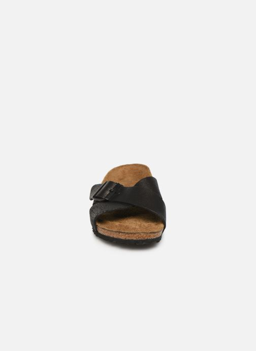 Mules et sabots Birkenstock Siena Cuir W Noir vue portées chaussures