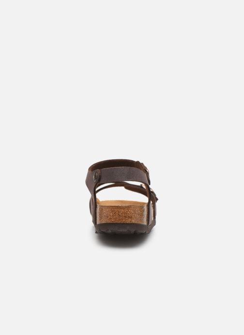 Sandales et nu-pieds Birkenstock Kumba Flor Soft Footbed W Marron vue droite