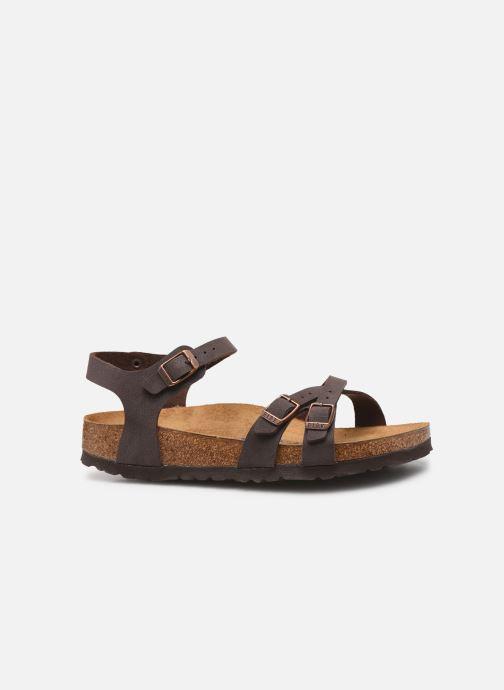 Sandales et nu-pieds Birkenstock Kumba Flor Soft Footbed W Marron vue derrière