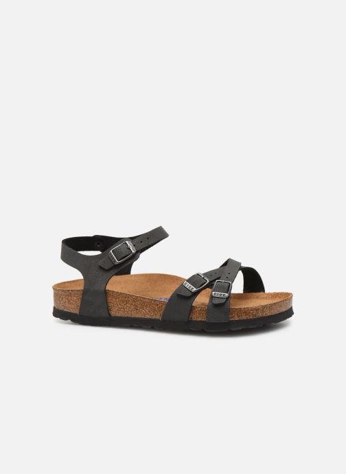 Sandalen Birkenstock Kumba Flor Soft Footbed W Zwart achterkant