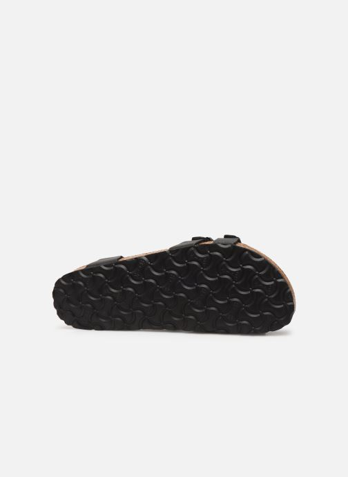 Sandalias Birkenstock Kumba Flor Soft Footbed W Negro vista de arriba