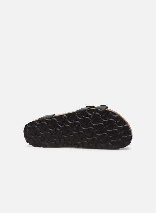 Sandales et nu-pieds Birkenstock Kumba Flor Soft Footbed W Noir vue haut