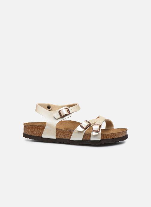 Sandali e scarpe aperte Birkenstock Kumba Flor Soft Footbed W Bianco immagine posteriore