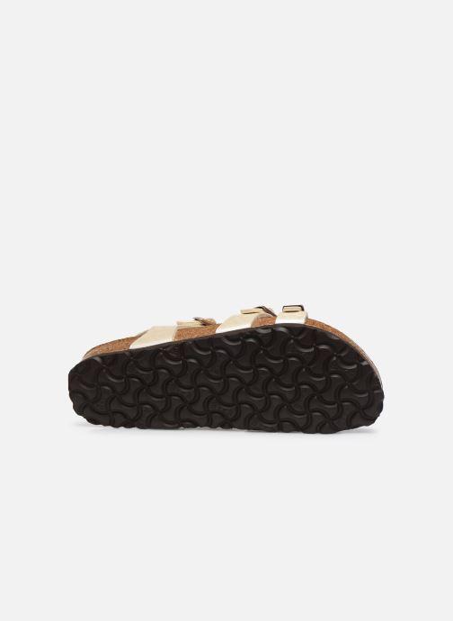 Sandali e scarpe aperte Birkenstock Kumba Flor Soft Footbed W Bianco immagine dall'alto