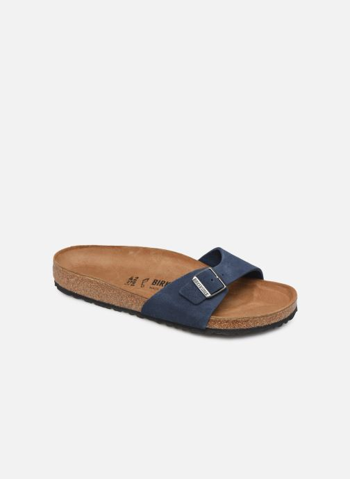 Birkenstock Madrid Cuir Suede M (Bleu) Sandales et nu