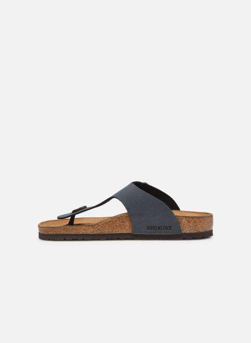 Sandales et nu-pieds Birkenstock Ramses Flor M Gris vue face