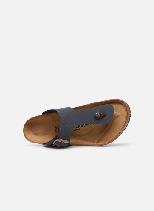 Sandales et nu-pieds Birkenstock Ramses Flor M Gris vue gauche