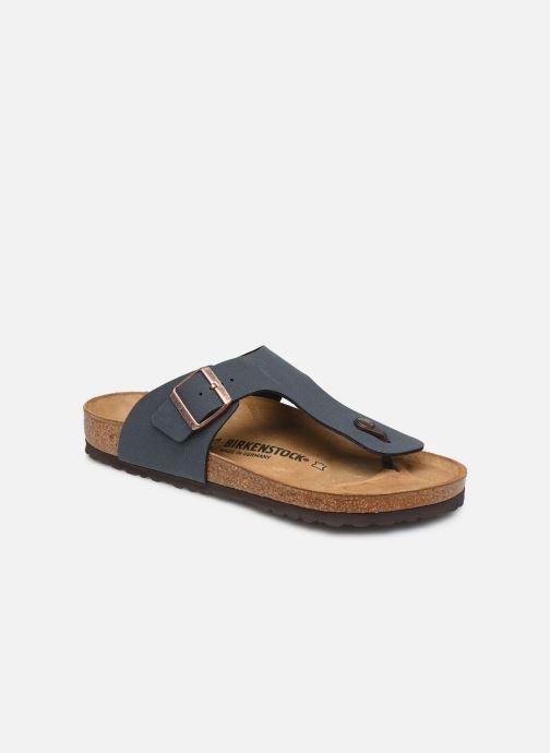 Sandales et nu-pieds Birkenstock Ramses Flor M Gris vue détail/paire