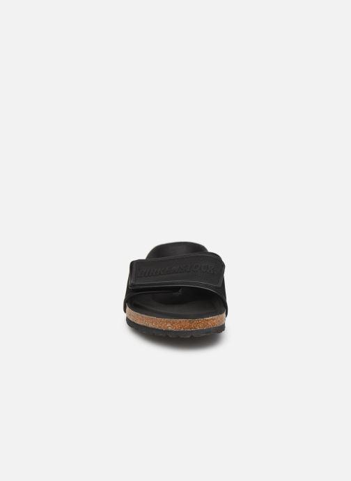 Sandalen Birkenstock Tema Microfibre M schwarz schuhe getragen