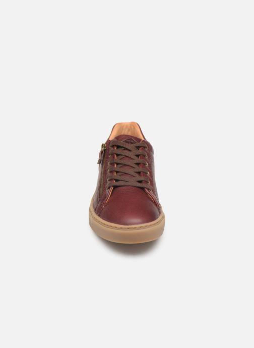 Baskets P-L-D-M By Palladium Cali Plp Bordeaux vue portées chaussures