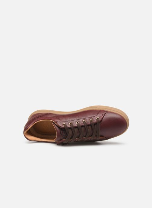 Trainers P-L-D-M By Palladium Cali Plp Burgundy view from the left