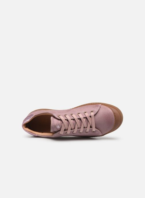 Trainers P-L-D-M By Palladium Nocera Crt Pink view from the left