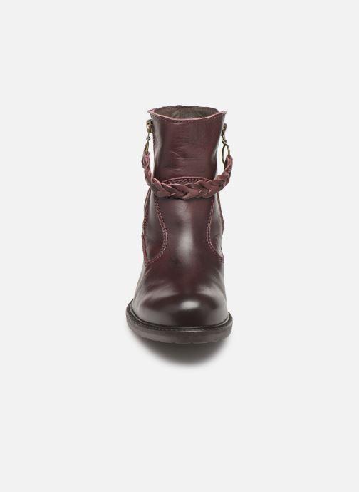 Bottines et boots P-L-D-M By Palladium Sanski Ibx Bordeaux vue portées chaussures