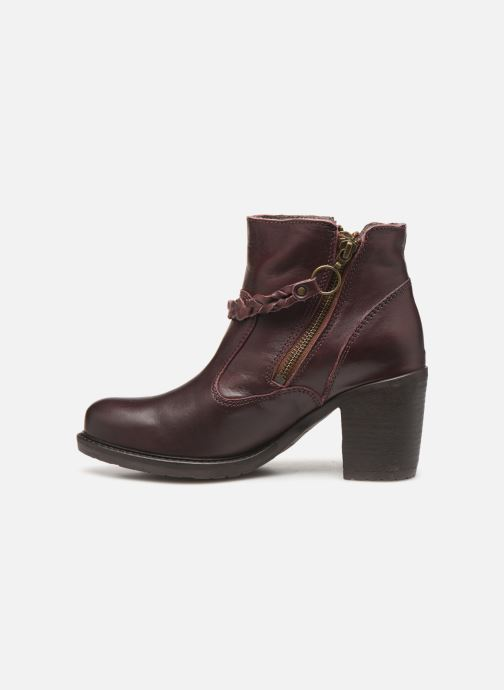 Bottines et boots P-L-D-M By Palladium Sanski Ibx Bordeaux vue face