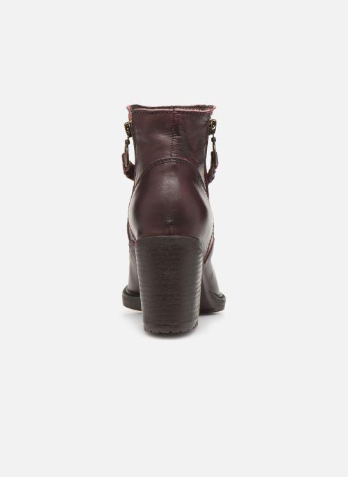 Bottines et boots P-L-D-M By Palladium Sanski Ibx Bordeaux vue droite