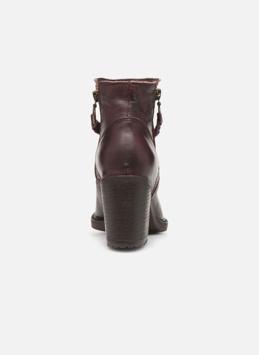 Ankle boots P-L-D-M By Palladium Sanski Ibx Burgundy view from the right