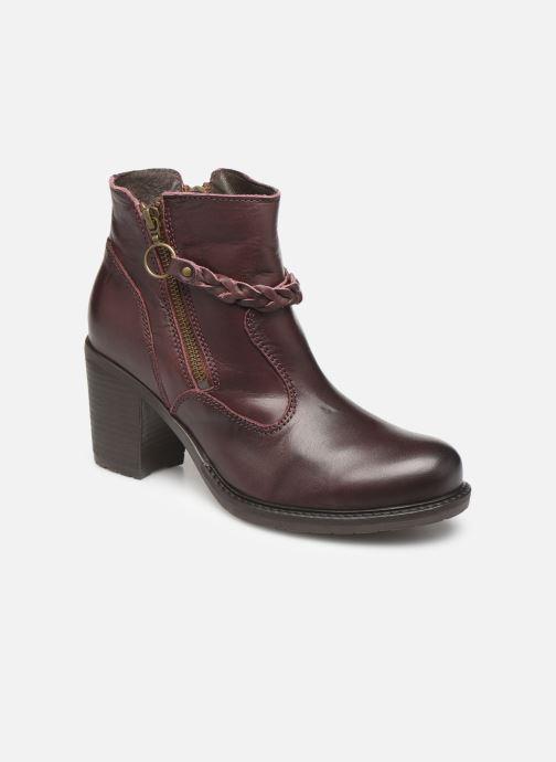 Bottines et boots P-L-D-M By Palladium Sanski Ibx Bordeaux vue détail/paire