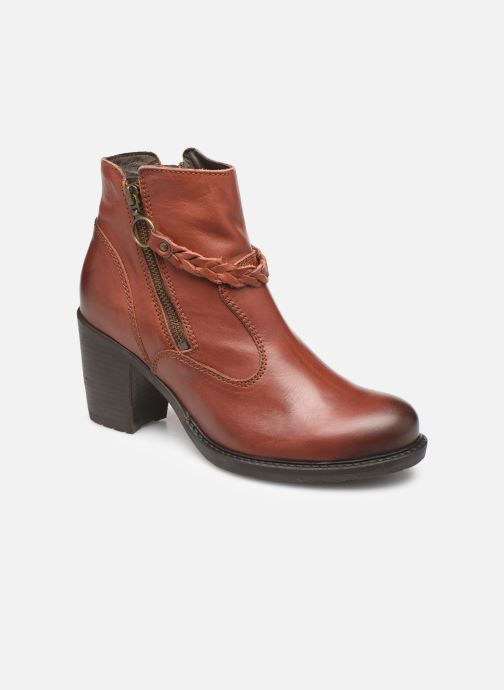 Bottines et boots P-L-D-M By Palladium Sanski Ibx Marron vue détail/paire