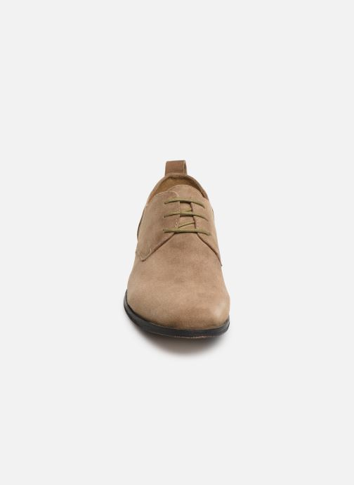 Lace-up shoes P-L-D-M By Palladium Picadilly Sud Beige model view