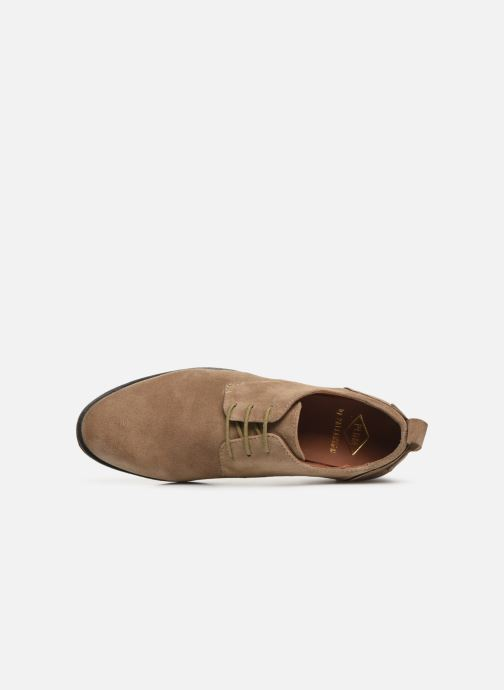 Chaussures à lacets P-L-D-M By Palladium Picadilly Sud Beige vue gauche