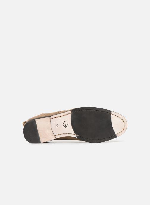 Chaussures à lacets P-L-D-M By Palladium Picadilly Sud Beige vue haut