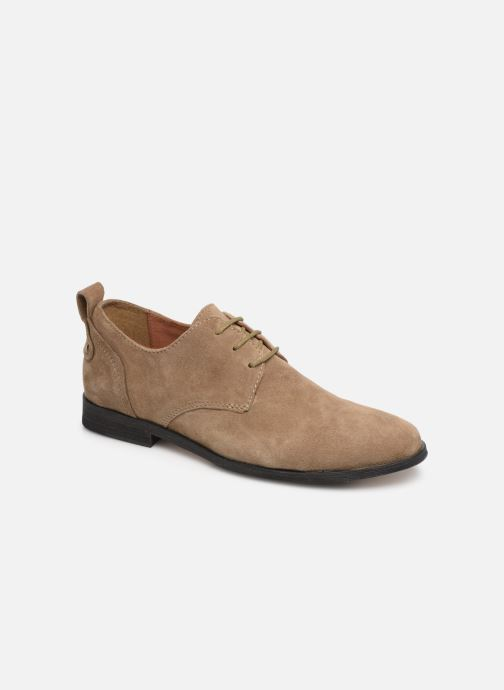Lace-up shoes P-L-D-M By Palladium Picadilly Sud Beige detailed view/ Pair view
