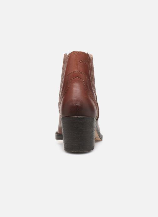Bottines et boots P-L-D-M By Palladium Pross Marron vue droite