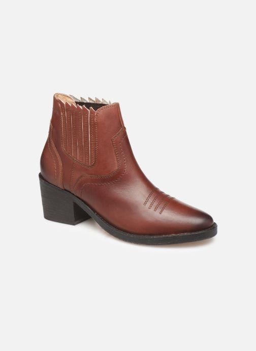 Bottines et boots P-L-D-M By Palladium Pross Marron vue détail/paire