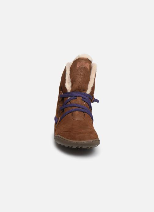 Bottines et boots Camper Peu Cami 46477 Marron vue portées chaussures