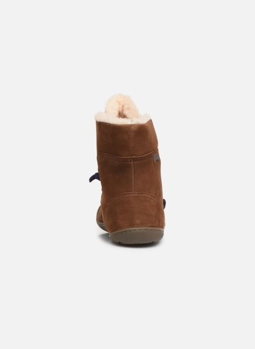 Bottines et boots Camper Peu Cami 46477 Marron vue droite