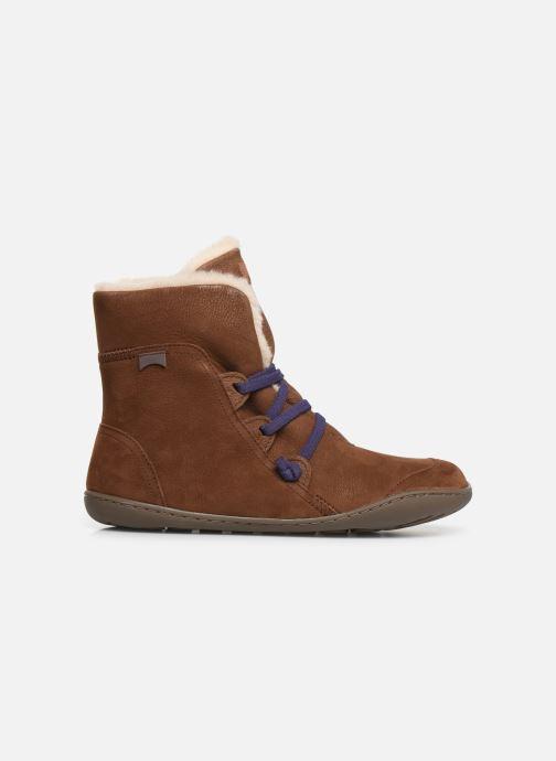 Bottines et boots Camper Peu Cami 46477 Marron vue derrière