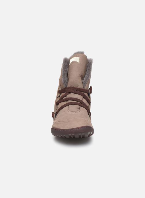Bottines et boots Camper Peu Cami 46477 Beige vue portées chaussures