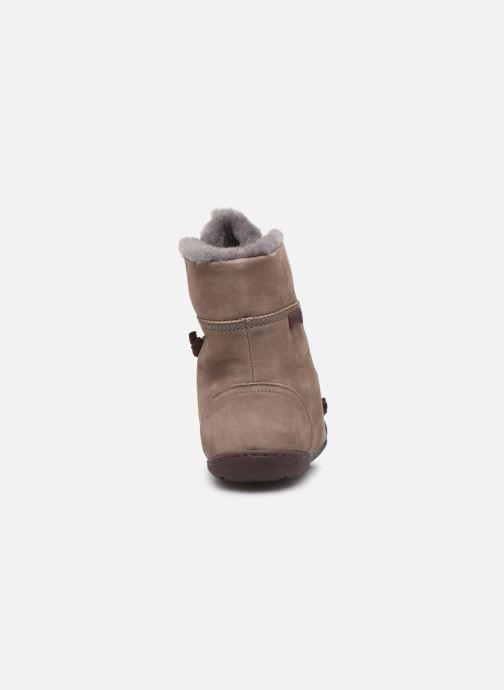 Bottines et boots Camper Peu Cami 46477 Beige vue droite