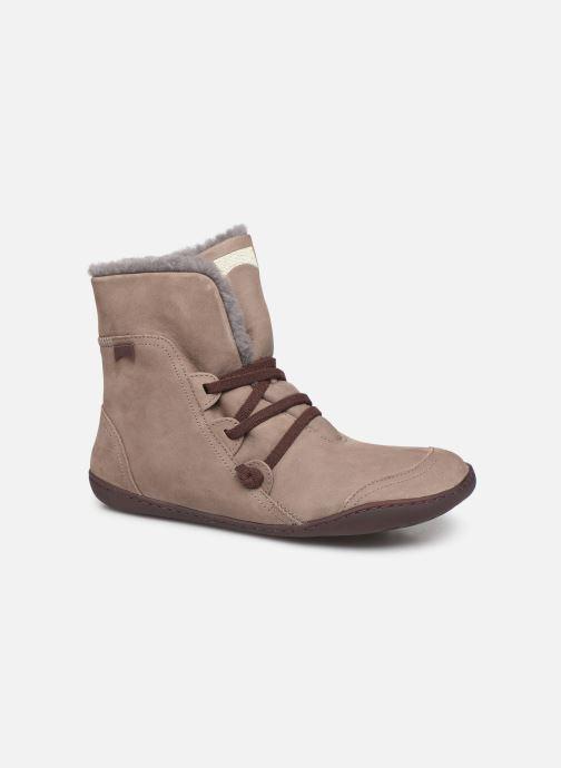 Bottines et boots Camper Peu Cami 46477 Beige vue détail/paire