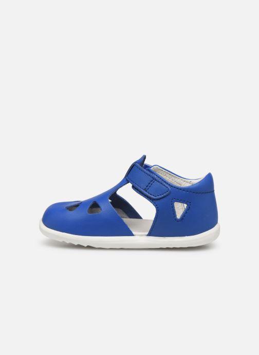 Bailarinas Bobux Zap Azul vista de frente