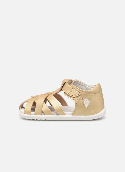 Ballet pumps Bobux Tropicana Bronze and Gold front view