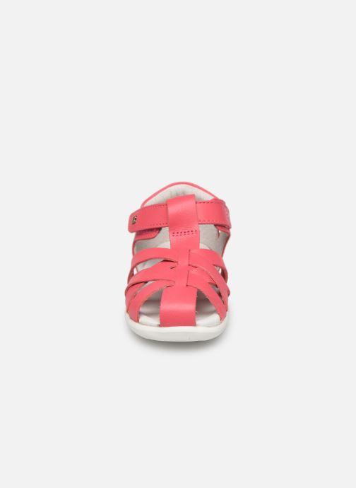Ballerines Bobux Tropicana Rose vue portées chaussures