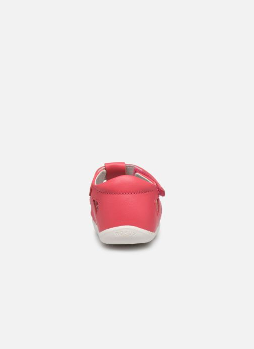 Ballerina's Bobux Tropicana Roze rechts