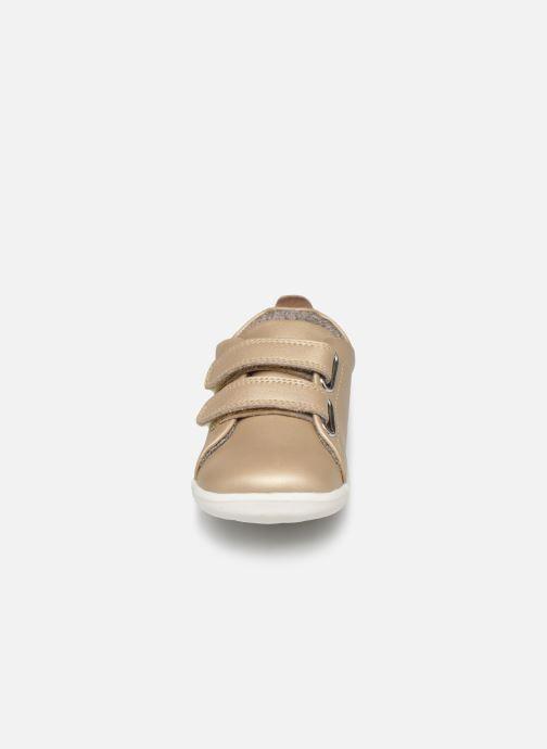 Sneaker Bobux Grass Court beige schuhe getragen