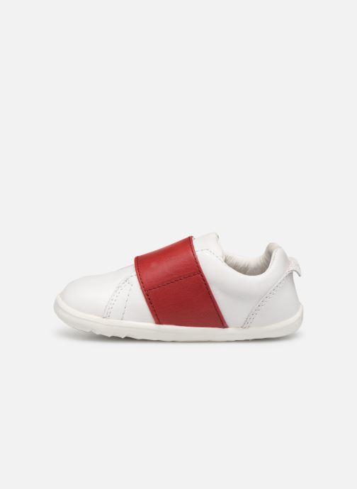 Sneakers Bobux Boston Wit voorkant
