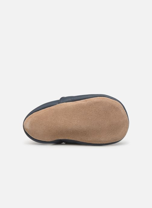 Slippers Bobux Xo navy Blue view from above
