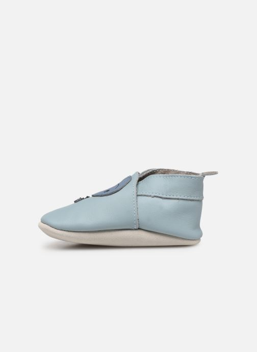Slippers Bobux Baleine bleu Blue front view