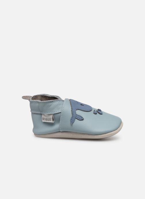 Slippers Bobux Baleine bleu Blue back view