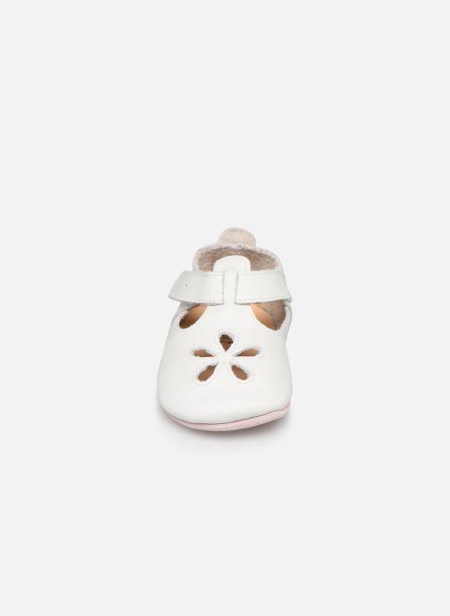 Chaussons Bobux Sandales blanches Blanc vue portées chaussures