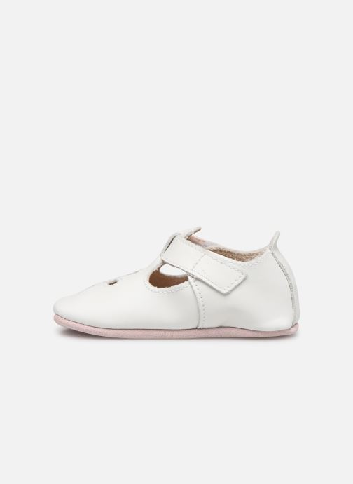 Chaussons Bobux Sandales blanches Blanc vue face