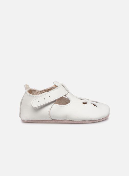 Chaussons Bobux Sandales blanches Blanc vue derrière