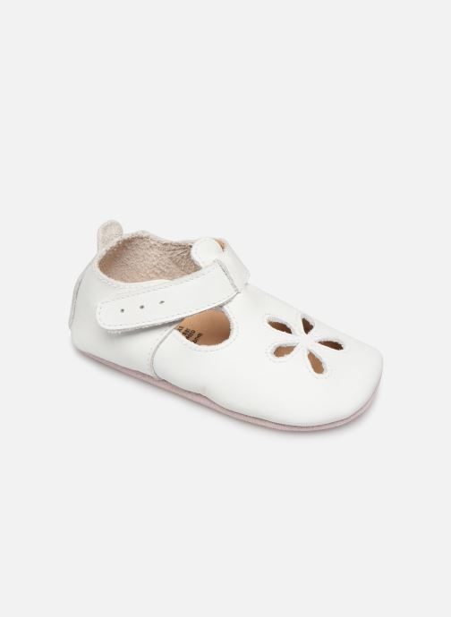 Chaussons Bobux Sandales blanches Blanc vue détail/paire