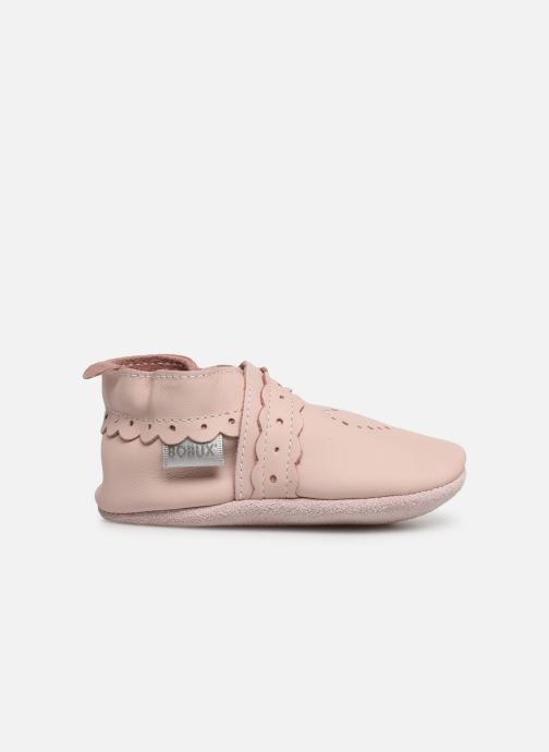 Pantoffels Bobux Pointillés coeurs roses Roze achterkant
