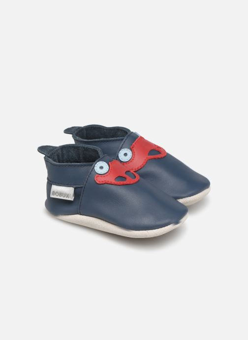 Slippers Bobux Voiture de sport navy Blue detailed view/ Pair view