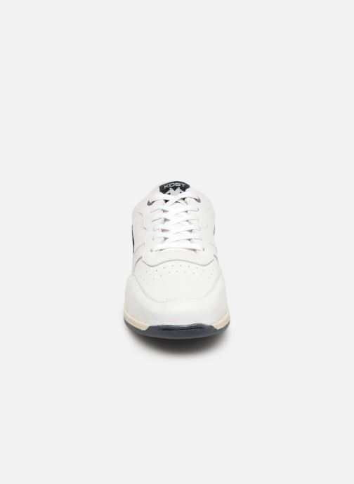 Baskets Kost Hooper Blanc vue portées chaussures